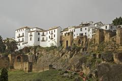 view of albaicin, granada, andalusia, spain - stock photo