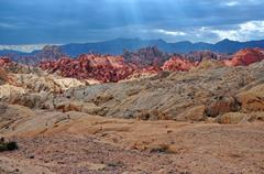 Red Rock Landscape, Southwest USA Stock Photos