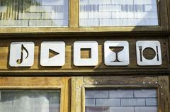 Bar icons Kuvituskuvat