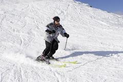 Skiing on the tauplitz styria austria Kuvituskuvat