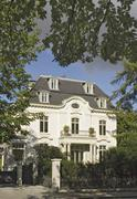 Stock Photo of villa at elbchaussee in hamburg, germany