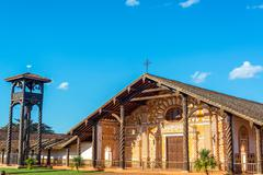 Jesuit mission in concepcion, bolivia Stock Photos