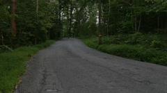 Bicycling, Cyclists Riding Together on Back Roads Stock Footage