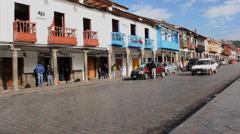 Plaza de Armas, Cuzco, Peru - Cusco Stock Footage
