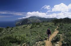 Stock Photo of mallorca serra de tramuntana - ses basses - hiking