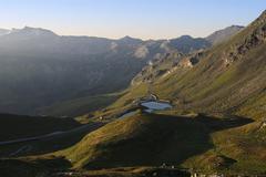 Grossglockner Hochalpenstrasse national park Hohe Tauern Austria Europe Stock Photos
