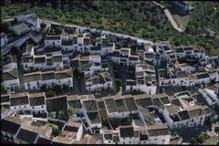 Zahara de la sierra andalusia province cádiz spain Stock Photos