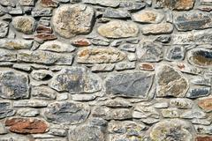 Antique stonewall - stock photo