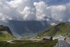 Grossglockner Hochalpenstrasse national park Hohe Tauern Austria Europe - stock photo