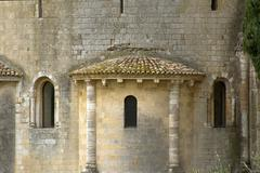 Abbey of san antimo, tuscany, italy Stock Photos