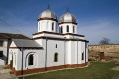 comana monastery - stock photo
