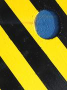 detail from a excavator - stock photo