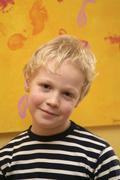 junge portrait /portrait of a boy - stock photo