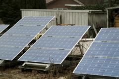 Solar energie Stock Photos