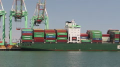 Listing Container Ship Stock Footage