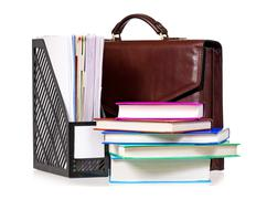 Briefcase - stock photo
