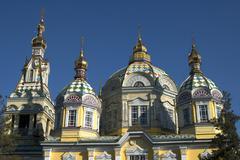 Ascension Church Almaty Kazakhstan - stock photo