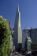 Stock Photo of transamerica pyramid at downtown san francisco, california, usa