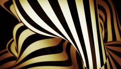 Abstract motion background with moving zebra lines Stock Footage