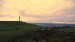 Stock Video Footage of HOAD HILL, ULVERSTON CUMBRIA. UK.