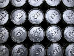 beverage cans - stock photo