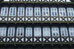 Stock Photo of Half timbered house Hannover Germany