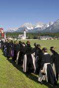 Stock Photo of feast of corpus christi procession in oberndorf tyrol austria