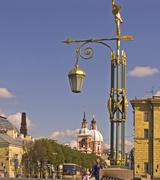 Stock Photo of white nights, gus russia st petersburg 300 years old venice of the north moik