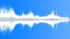 Motorboat leaves Marina boat dock - sound effect