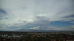 Nevadan autiomaassa maa maisemaa. USA. Clouds. Timelapse. Arkistovideo