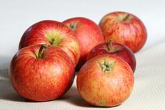 Apple sort schöner aus bath Stock Photos