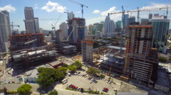 Aerial Brickell City Center Stock Footage