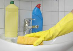 cleaning utilities - stock photo