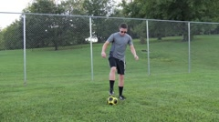 Soccer drills. Stock Footage