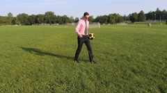 Soccer move. Stock Footage
