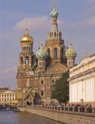 Stock Photo of white nights, gus russia st petersburg 300 years old venice of the north grib