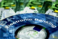 Stock Photo of Electronic Banking