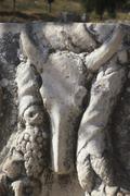 Stock Photo of turkey ephesus excavation marble street