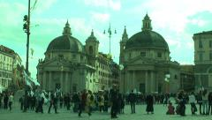 912. Italy. street event Stock Footage
