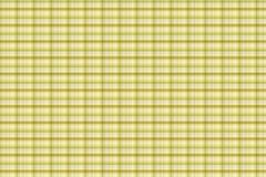 Tartan yellow pattern - plaid clothing table Stock Illustration