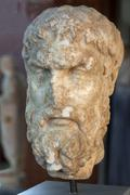Stock Photo of turkey aphrodisias in the meander valley excavations archeological museum epi