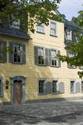Stock Photo of Weimar Thuringia Germany house of the German poet Friedrich Schiller