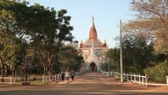 Bagan Ananda Paya Stock Footage