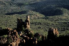Valley of Desolation Karoo South Africa Stock Photos