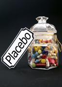 Symbolic for placebo Stock Photos