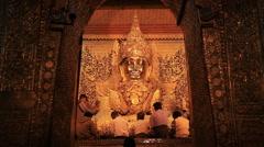 Temple Mandalay Myanmar Stock Footage