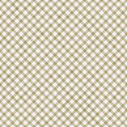 Light brown gingham pattern repeat background Stock Illustration