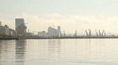 Baku landscape Stock Footage