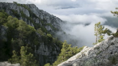 Mountain cloud Stock Footage