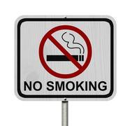 Stock Illustration of no smoking sign